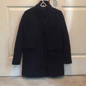 Jcrew Stadium Cloth Cocoon Coat